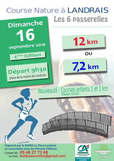 Affiche course 6 passerelles 16 septembre 2018 def