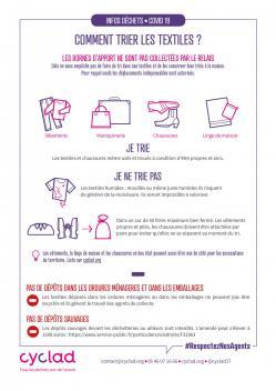 Infos dechets textiles mars 2020